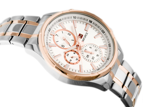 NAVIFORCE - NF9089 (zn065b) - silver/rosegold