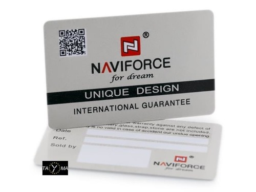 NAVIFORCE - NF9093 (zn041c) - black/white