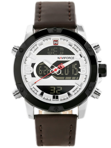 NAVIFORCE - NF9097 (zn043a) - brown/silver