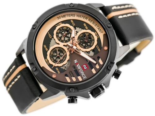 NAVIFORCE - NF9110 (zn047c) - black/rosegold