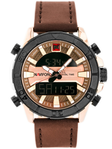 NAVIFORCE - NF9114 (zn046e) - brown/rosegold