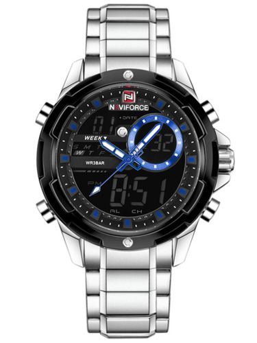 NAVIFORCE - NF9120 (zn062a) - silver/blue